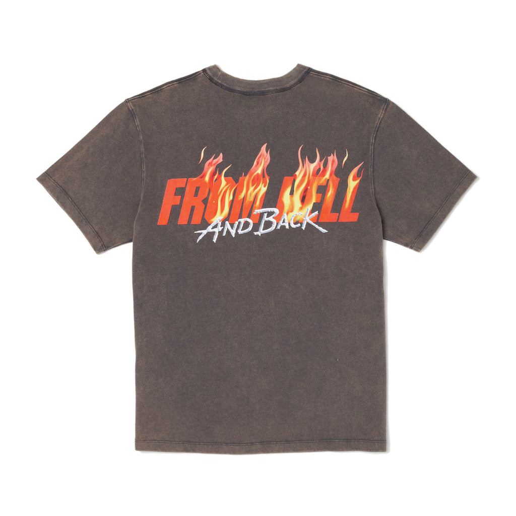 Hellhound T-Shirt - Faded Black