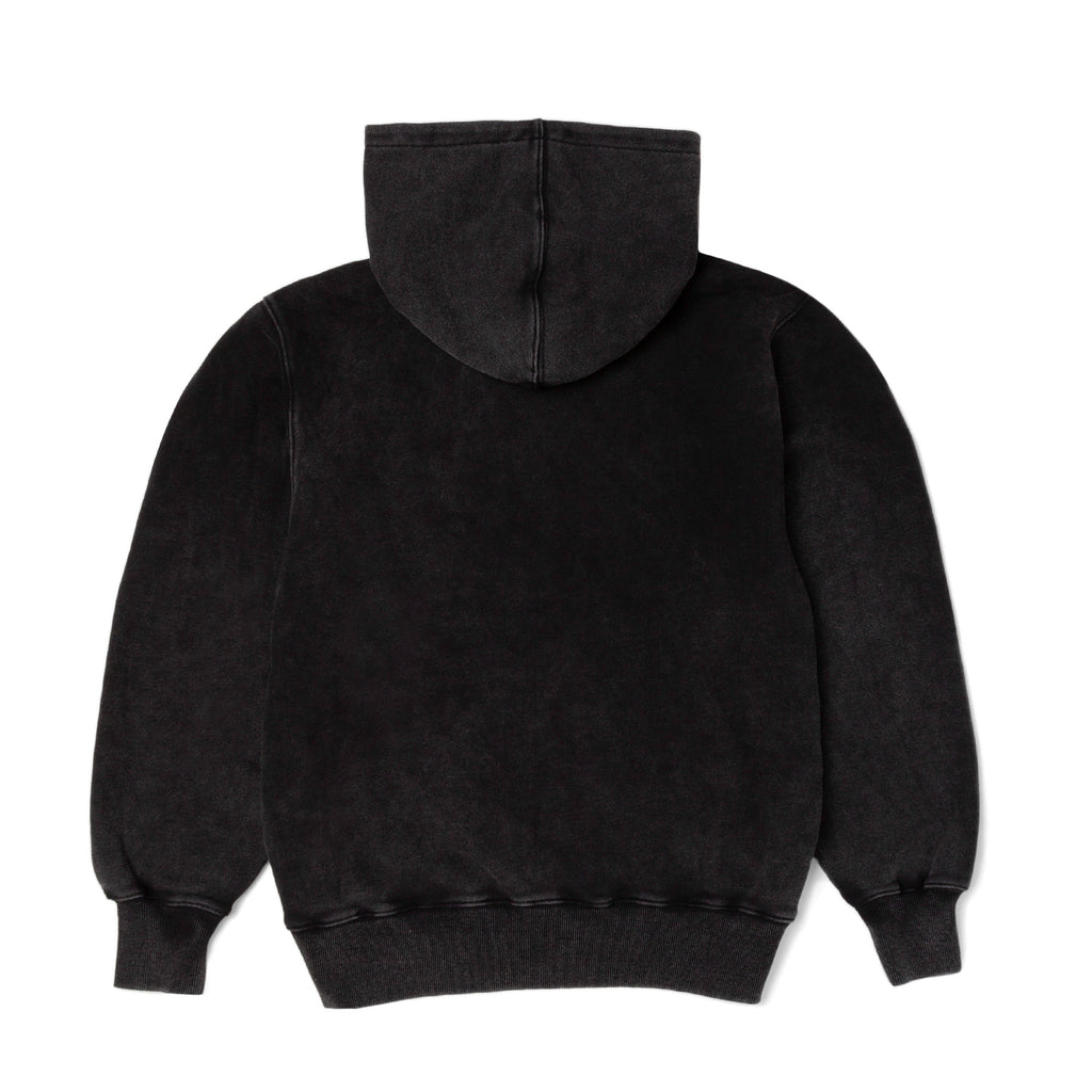 University Hoodie - Faded Black