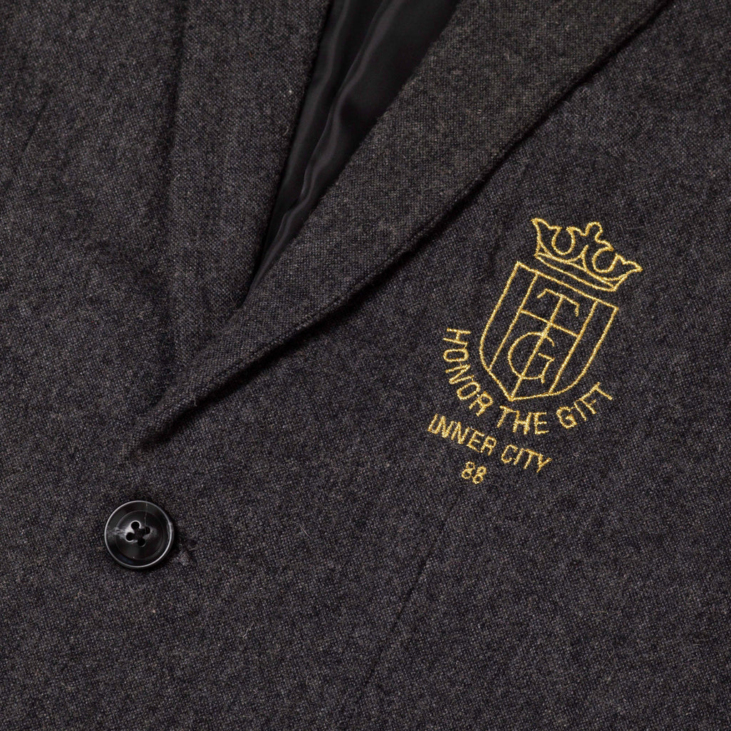 Academy Blazer - Speckle Grey
