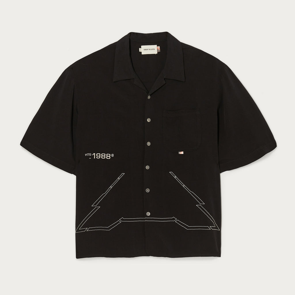 Squadron Camp Button Up - Stealth