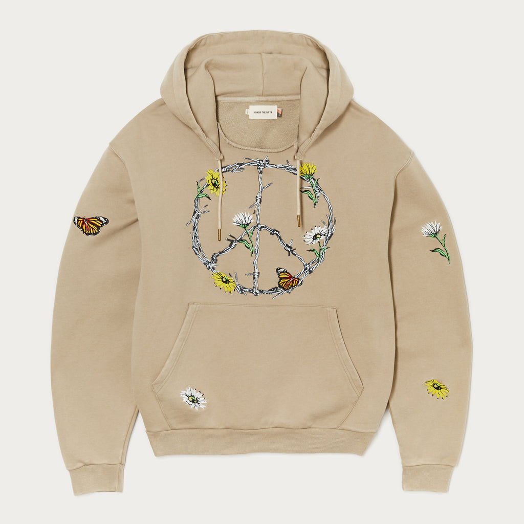 Iron Peace Pullover Hoodie - Haze