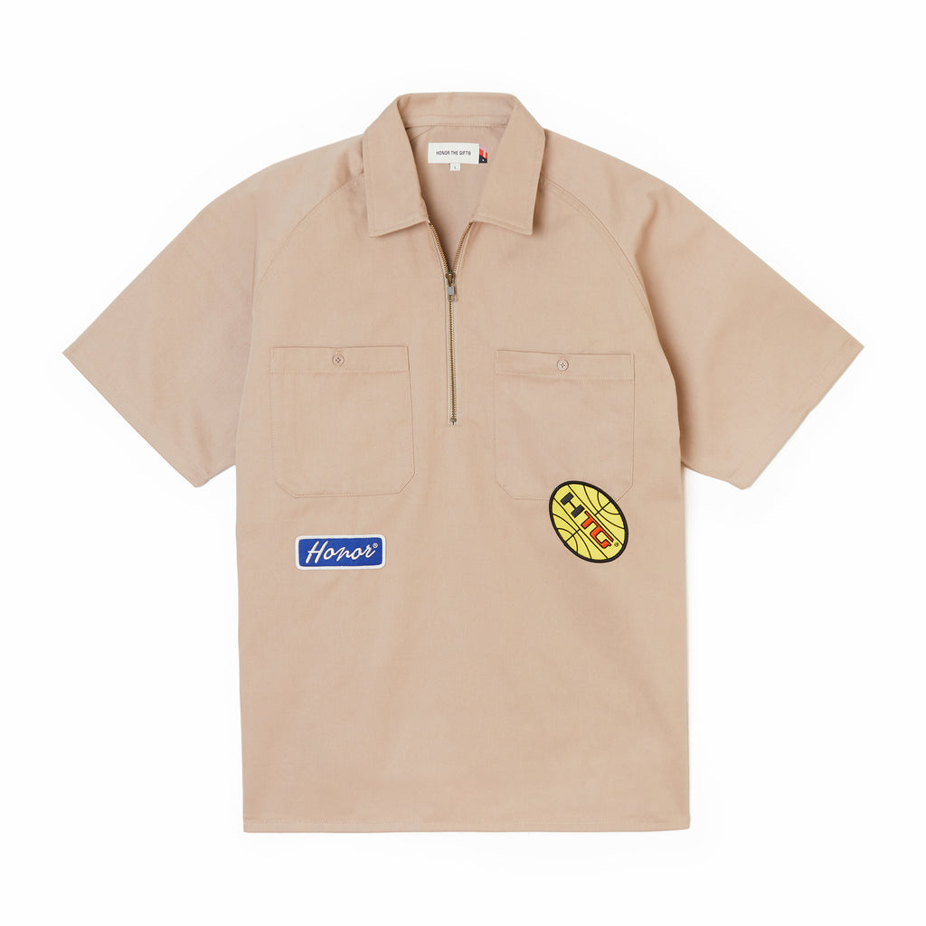 Mechanic Uniform S/S - Khaki