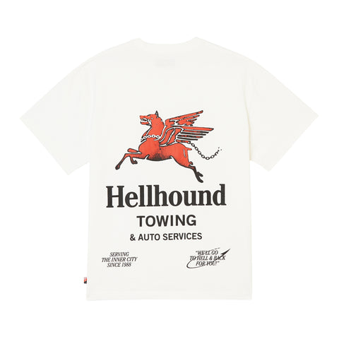 Hellhound Towing T-Shirt - Off White