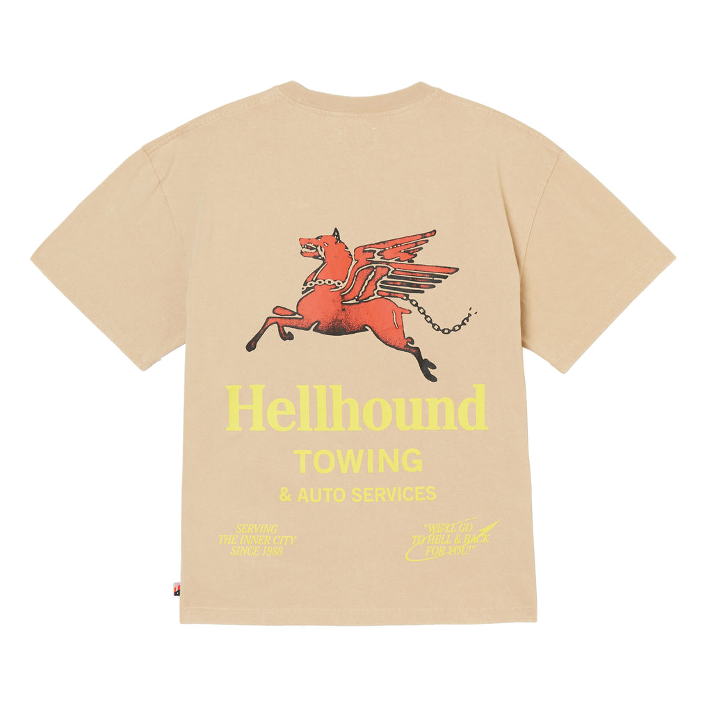 Hellhound Towing T-Shirt - Khaki