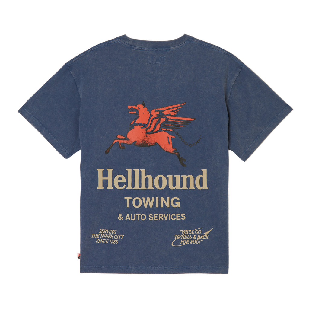 Hellhound Towing T-Shirt - Navy