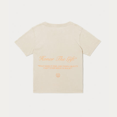 Kids Iron Peace T-Shirt - Bone