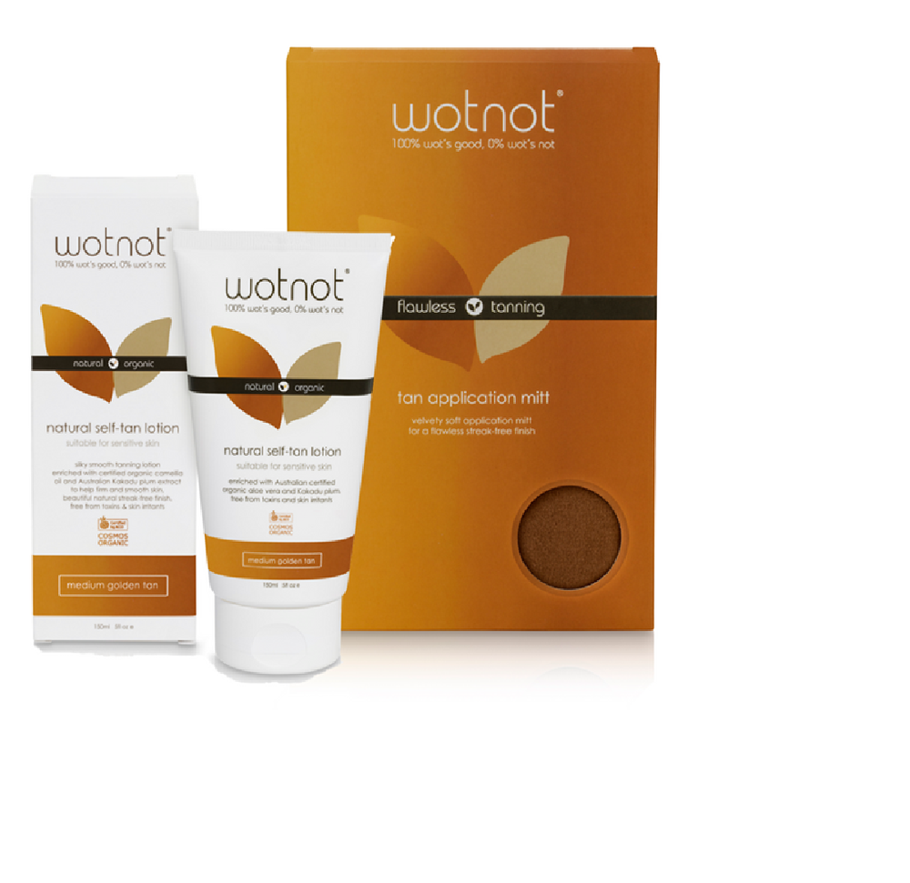 Wotnot Self-Tanning Bundle- Medium Golden Tan