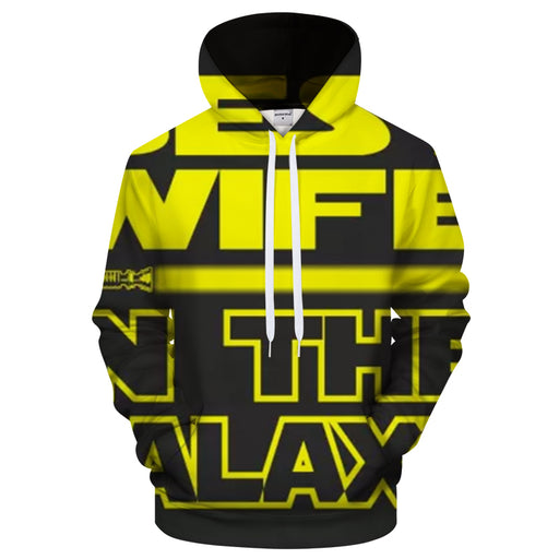 Best Wife In The Galaxy 3D Sweatshirt Hoodie Pullover