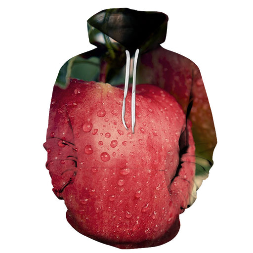 Fresh Apple 3D - Sweatshirt, Hoodie, Pullover
