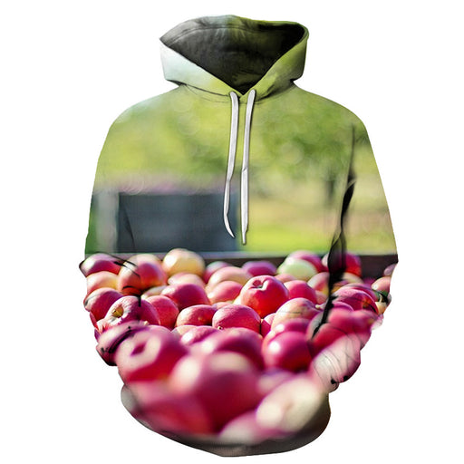 Freshly Picked Apples 3D - Sweatshirt, Hoodie, Pullover