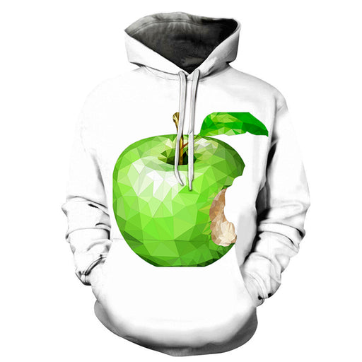 Green Apples 3D - Sweatshirt, Hoodie, Pullover