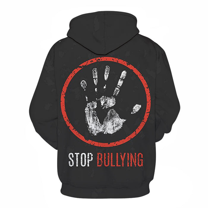 Anti-Bullying 3D - Sweatshirt, Hoodie, Pullover