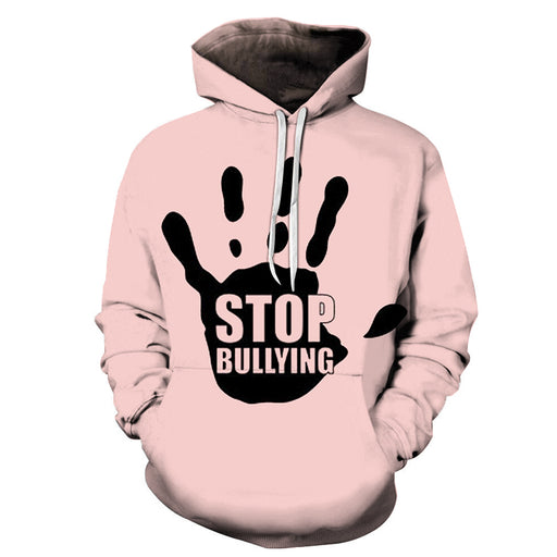 Stop The Bullying 3D - Sweatshirt, Hoodie, Pullover