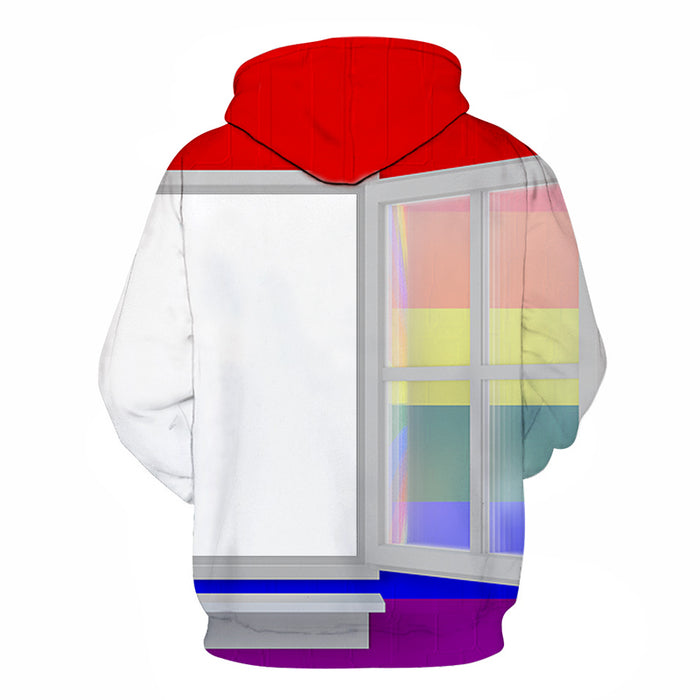 Coming Out 3D - Sweatshirt, Hoodie, Pullover