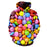 Colorful Candy 3D - Sweatshirt, Hoodie, Pullover