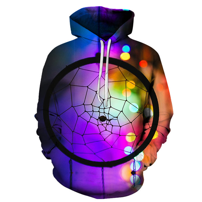Basketball Net Colored 3D Hoodie