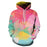 Colorful Water 3D - Sweatshirt, Hoodie, Pullover
