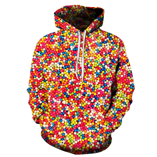 Multicolor Candy 3D Sweatshirt
