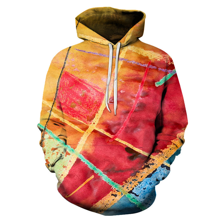 Abstract Colors 3D - Sweatshirt, Hoodie, Pullover