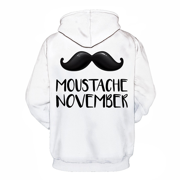 3D November and Movember - Sweatshirt, Hoodie, Pullover