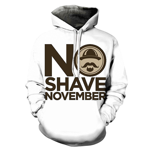 Strictly No Shave Hoodie- Sweatshirt, Hoodie, Pullover