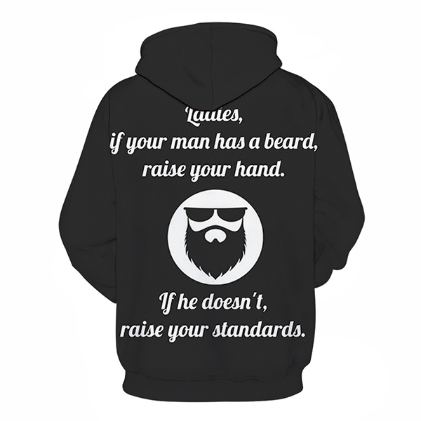 Beard is A Must Have - Sweatshirt, Hoodie, Pullover
