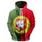 Portugal Peace Sign 3D - Sweatshirt, Hoodie, Pullover