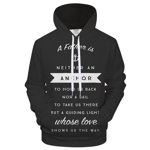Guiding Light - Father's Day 3D Sweatshirt Hoodie Pullover