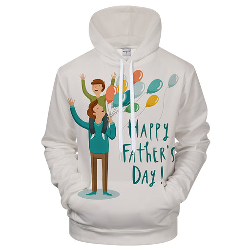 Father's Day Hoodie 3D Sweatshirt Hoodie Pullover