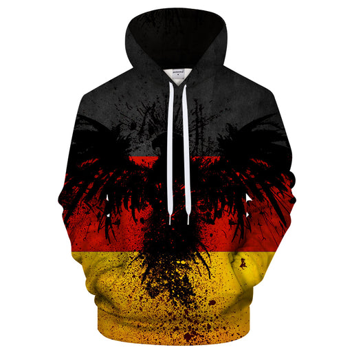 Germany Eagle 3D - Sweatshirt, Hoodie, Pullover