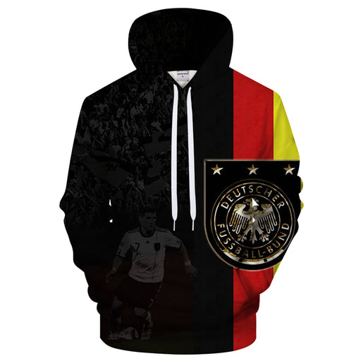 Germany Soccer Fan 3D - Sweatshirt, Hoodie, Pullover