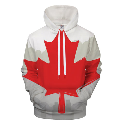 Canadian Maple Leaf 3D - Sweatshirt, Hoodie, Pullover