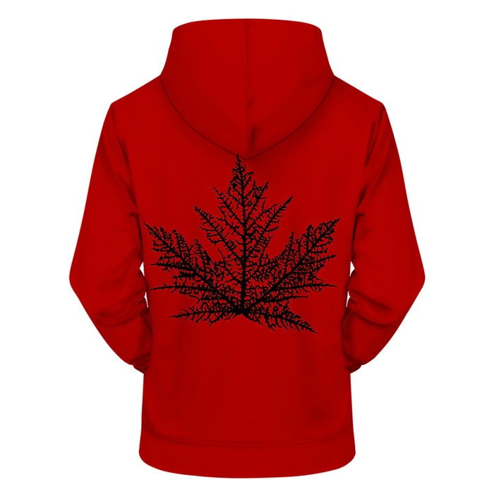 The Canadian Leaf 3D - Sweatshirt, Hoodie, Pullover