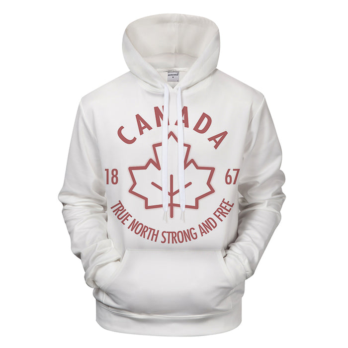Traditional Canadian 3D - Sweatshirt, Hoodie, Pullover