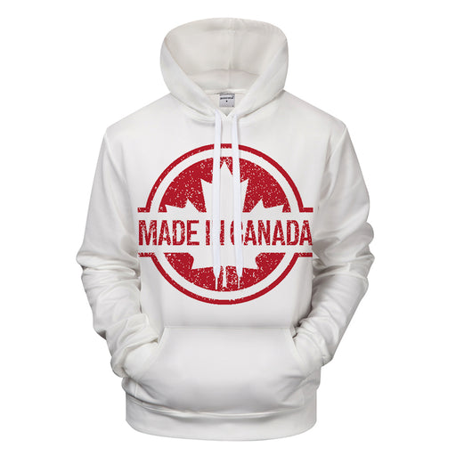 Made In Canada 3D - Sweatshirt, Hoodie, Pullover