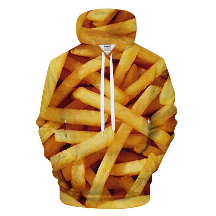 French Fries 3D - Sweatshirt, Hoodie, Pullover