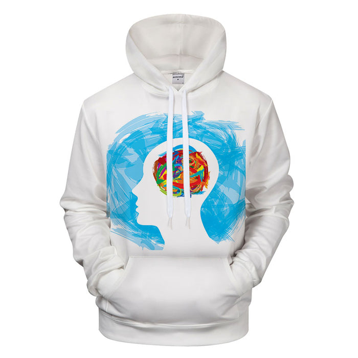 Healthy Thoughts 3D - Sweatshirt, Hoodie, Pullover