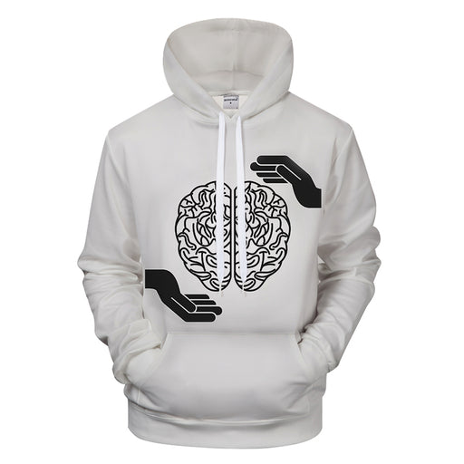 Love Your Brain 3D - Sweatshirt, Hoodie, Pullover