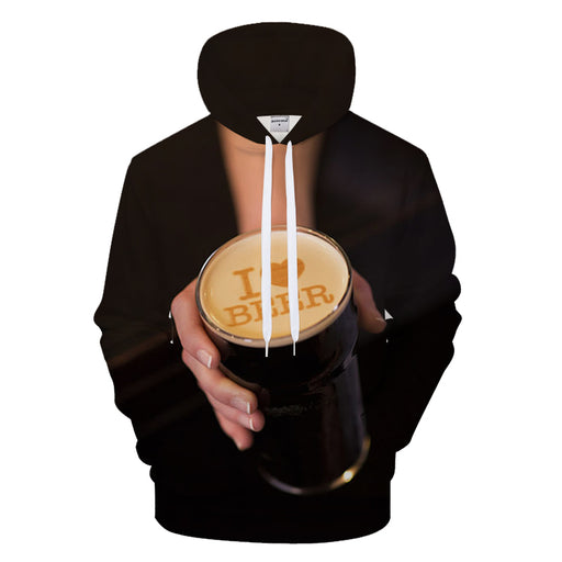 Do You Love Beer 3D Sweatshirt Hoodie Pullover