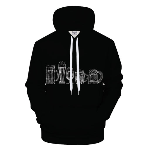 How Do You Like Your Beer 3D Sweatshirt Hoodie Pullover
