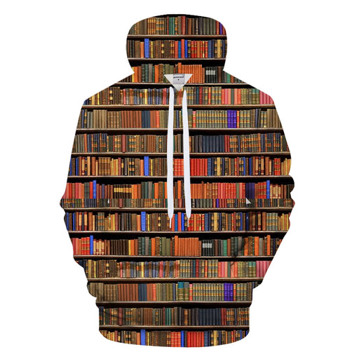 Library Of Knowledge 3D - Sweatshirt, Hoodie, Pullover