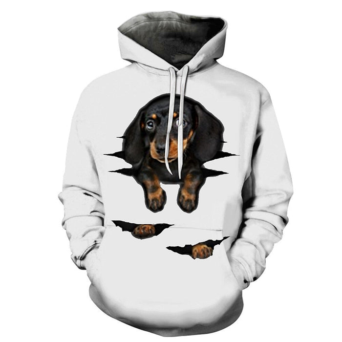 Just A Hanging Dog 3D - Sweatshirt, Hoodie, Pullover