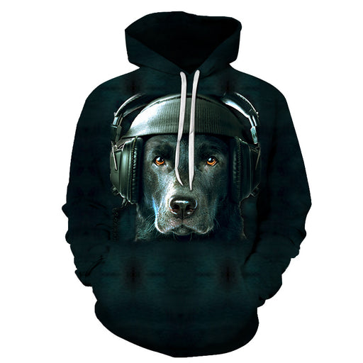 Listen To Some Music 3D - Sweatshirt, Hoodie, Pullover