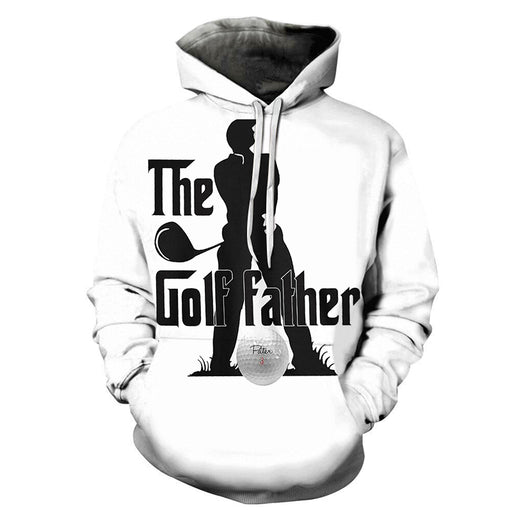 The Golf Father 3D - Sweatshirt, Hoodie, Pullover