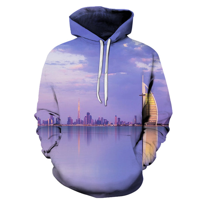 Beautiful Dubai 3D - Sweatshirt, Hoodie, Pullover