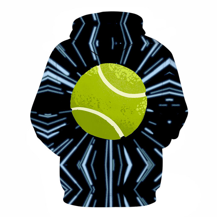Crazy For Tennis 3D - Sweatshirt, Hoodie, Pullover