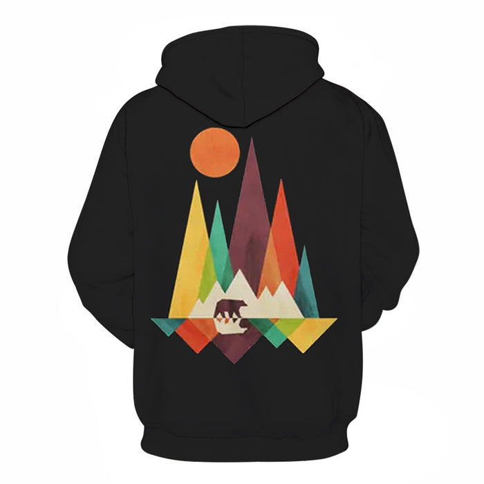 Moving Mountains 3D - Sweatshirt, Hoodie, Pullover