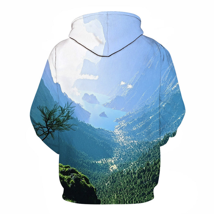 On Top Of The World 3D Sweatshirt Hoodie Pullover