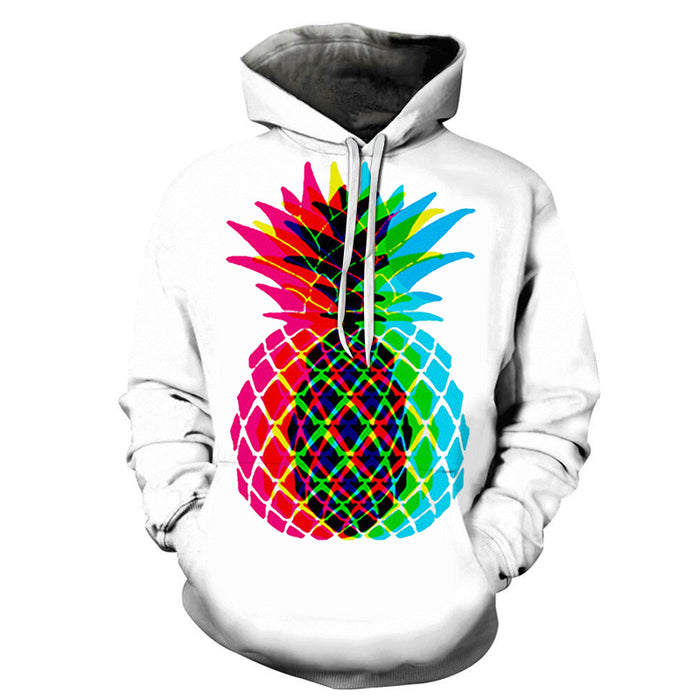 Fancy Pineapple 3D Sweatshirt Hoodie Pullover