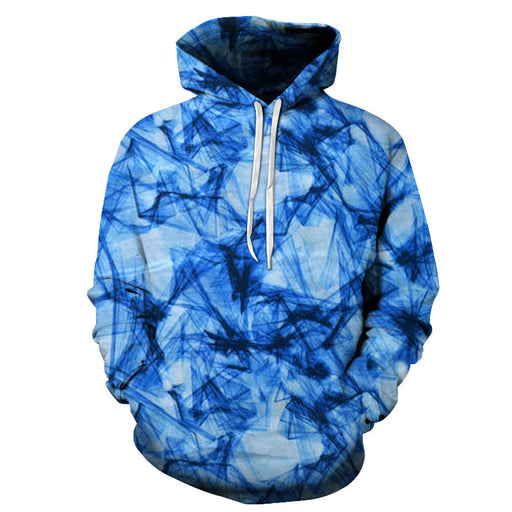 Blue Thoughts 3D Sweatshirt Hoodie Pullover